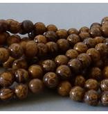 Jaspis Perle 6,6 mm - Elefantenhaut Jaspis