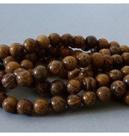 Elefantenhaut Jaspis Perle 6,3 mm