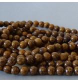 Jaspis Perle 6,3 mm - Elefantenhaut Jaspis
