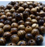 Walnuss Holz Perle 6,5 mm