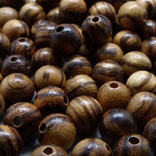 Walnuss Holz Perle 8,3 mm