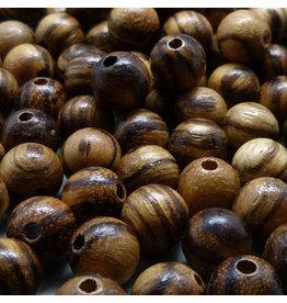 Walnuss Holz Perle 10 mm