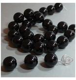 Onyx / Achat Perle 14 mm
