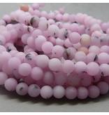 Jaspis Perle 6,3 mm - Kirschblüten Jaspis