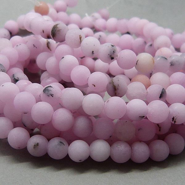Kirschblüten Jaspis Perle 6,3 mm