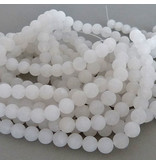 Jade Perle 6,2 mm - matt - chinesische Jade