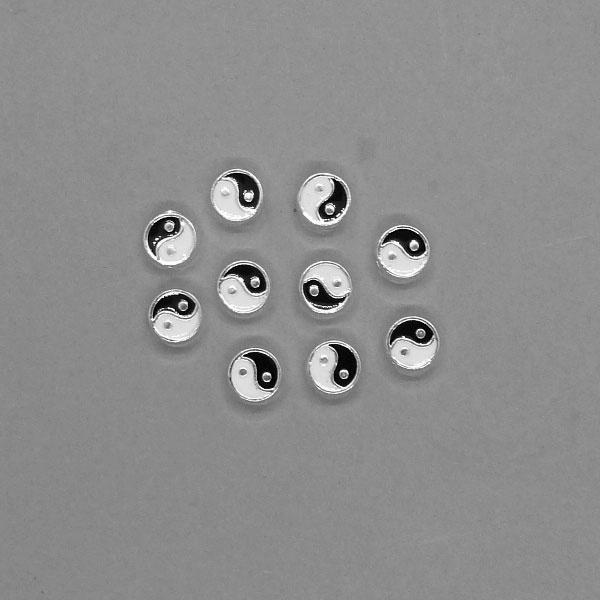 Perle versilbert - 7,5 mm