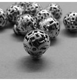 3 Loch Perle / Guru Perle - 12 mm