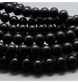 Ebenholz Perle 6,2 mm