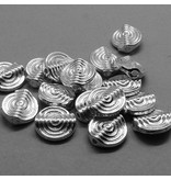 Perle versilbert - 12 mm