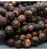 Jaspis Perle 8,5 mm - Leoparden Jaspis