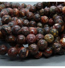 Jaspis Perle 6,5 mm - Leoparden Jaspis