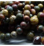Jaspis Perle 6,5 mm - Picasso Jaspis