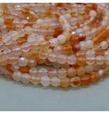 Karneol Perlen Strang 4 mm