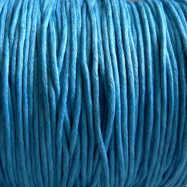 Griffin GmbH 5 Meter Baumwollband - 0,8 türkisblau