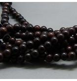 Rosenholz Perle 6,2 mm - natur braun