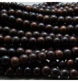 Rosenholz Perle 8 mm - natur braun