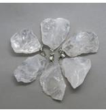 Bergkristall Anhänger - Rohstein
