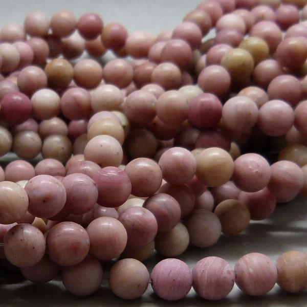 Rhodochrosit Perle 6,3 mm