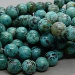 Chrysokoll-Diorit Perlen