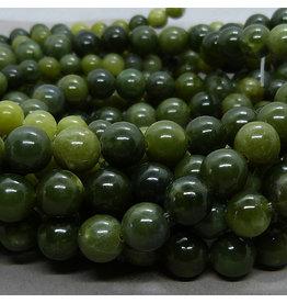 Jade Perle 8,3 mm - kanadische  Jade
