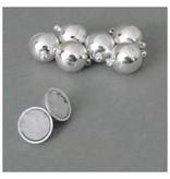 Edelstahl Magnet Verschluss - 14 mm