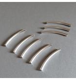 Röhre versilbert - 30 mm