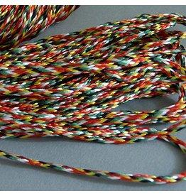 1 Meter Baumwollband 1 mm - bunt
