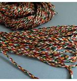 Buntes Fädelband aus Nepal