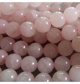Rosenquarz Perle 10,3 mm
