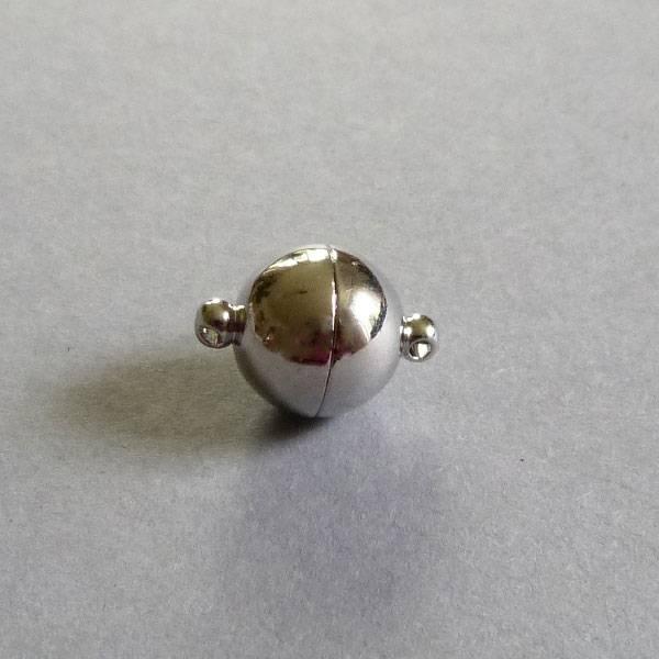 Edelstahl Magnet Verschluss - 12 mm