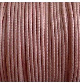 1 Meter Baumwollband - 1 mm rosa