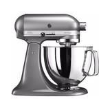 Kitchen Aid keukenmachine KSM175 Medaillon Silver/Tingrijs // 5KSM175PSEMS Aktieprijs //  //