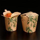 "Garcia de Pou Container ""Feel Green"" karton bruin Ø9cm H9cm m flap 780ml pak à 50"