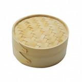 Garcia de Pou Sushi steamer bamboo natural Ø15x8cm m/deksel p/stuk