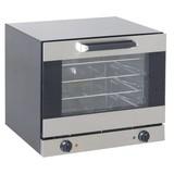 Smeg heteluchtoven/convectie model ALFA43X  RVS 602x584x537mm 4 niveaus // scharnieren onder, ovenruimte geëmailleerd. incl. 4 alum bakplaat