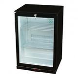 Display koeler zwart 1 deur 138ltr 230V 180W