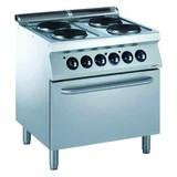 Electrolux pro 700 elektrische kookunit 4 platen met elektrische oven