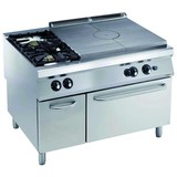 Electrolux pro 900 kookplaatfornuis gas met 2 branders en gas oven