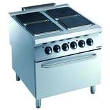 Electrolux pro 900 elektrisch fornuis met 4 platen en elektrische oven