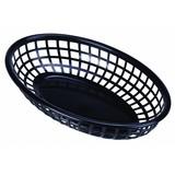 Fastfood mandje zwart 27,5 x 17,5 cm doos à 6