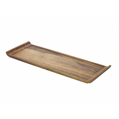 Acacia plank langw, met handvat 46 x 17,5 x 2 cm