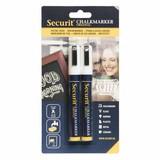 Krijtstift 2-6mm wit set 2st
