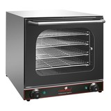 Caterchef heteluchtoven 60x60x57(h)mm 230V inclusief 4 roosters 33x460mm