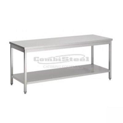 Werktafel met bodemschap 2400x700x900