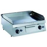 Electrolux pro 700 bakplaat elektrisch glad verchroomd/geribbeld