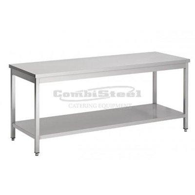Werktafel met bodemschap demontabel 1600x700x850