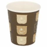 Garcia de Pou Beker karton 180cc bruin m/opdruk hot drinks rol à 50