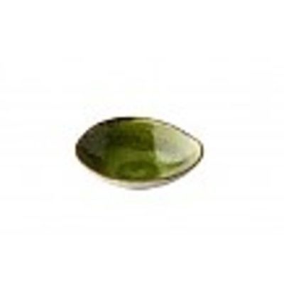 Q Jersey triangle kom groen Ø16xH4,5cm 292ml doos à 6