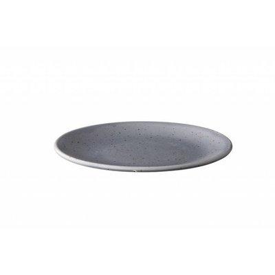 Q Authentic Tinto Bord Grey Ø22,5cm doos a 6